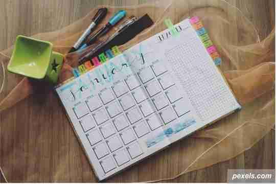 planner, book planner