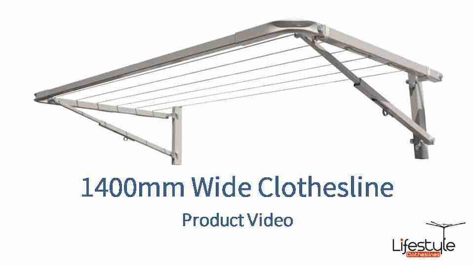 1400mm wide clothesline product link
