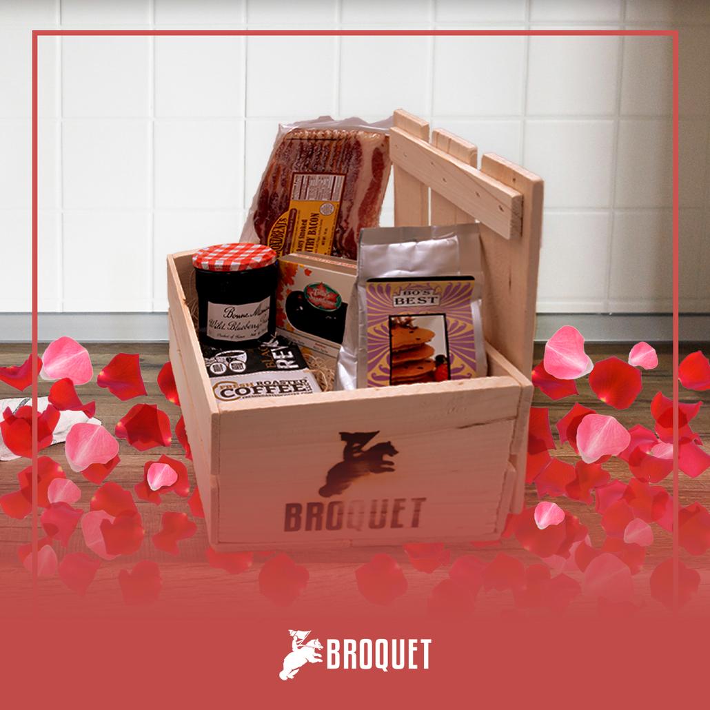 Breakfast Gift Set for Men for Valentine's Day