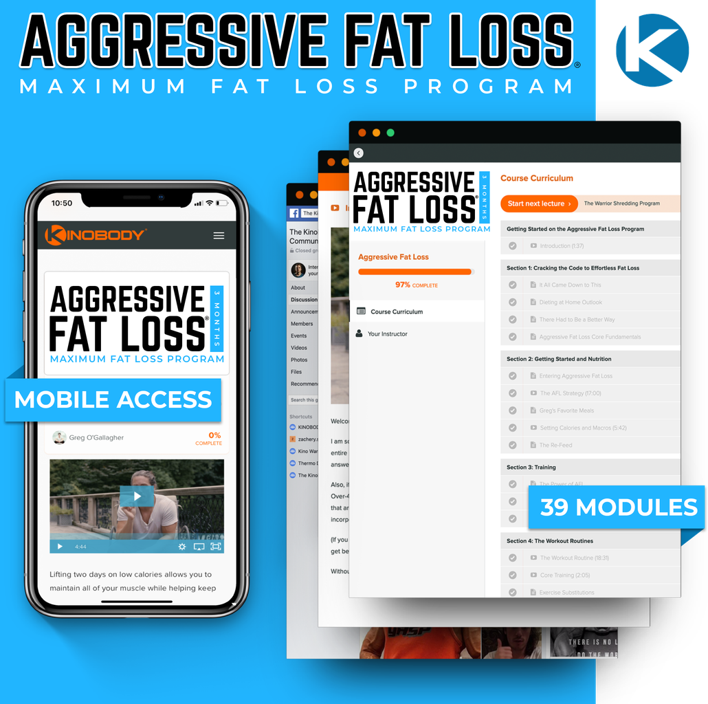 Aggressive Fat Loss Program
