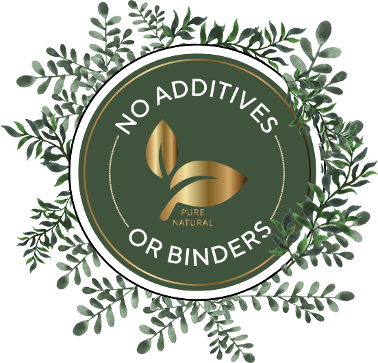 No Additives or Binders