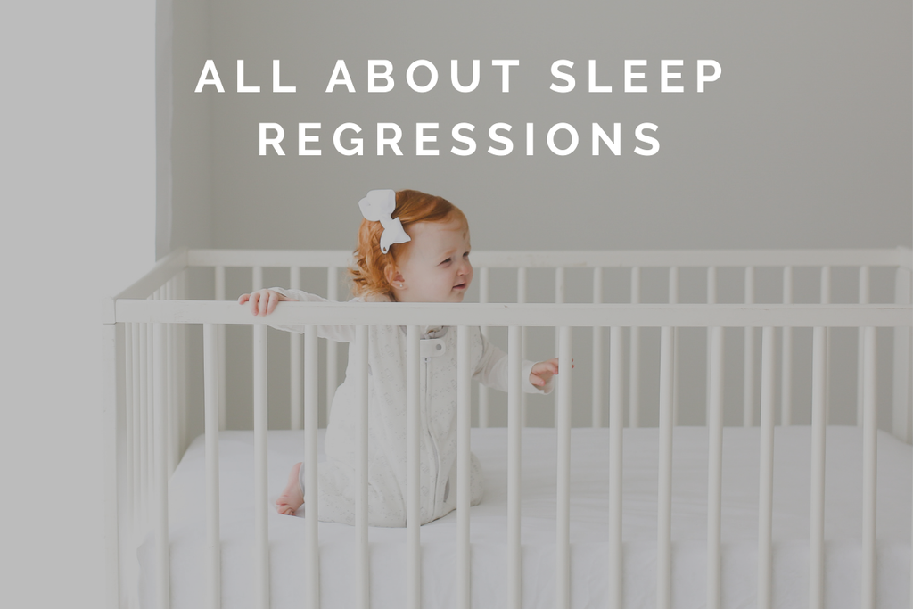 all about sleep regressions - best dreamsuit - sleep sack with feet