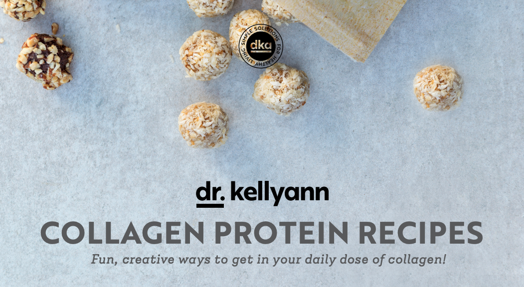 Dr. Kellyann collagen protein recipes