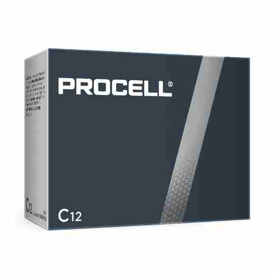 PC1400 Procell General Purpose C battery 1.5V Bulk Box of 12 - devices that need constant power