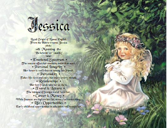 Angel Girl Gift Personalized