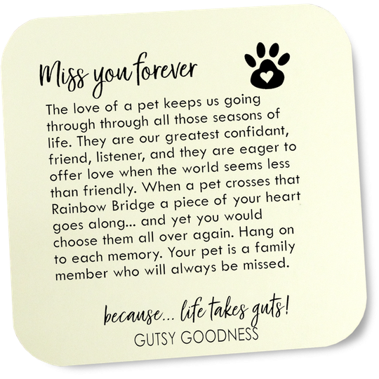 card - miss my pet forever