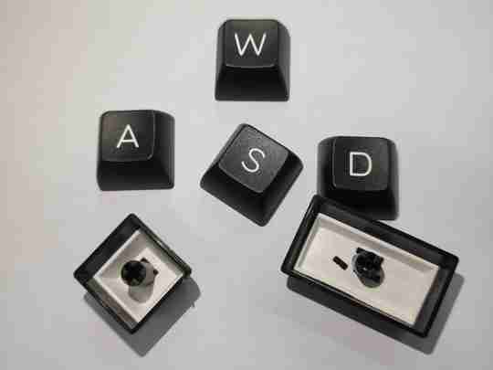 ABS keycaps