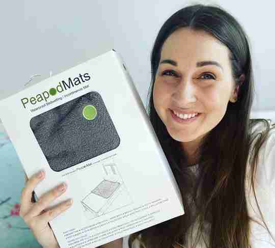 PeapodMats for Kids - Washable Bed Pads - Becky
