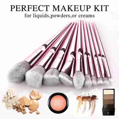 perfect make up kit, make up brushes, makeup brushes set, makeup foundation