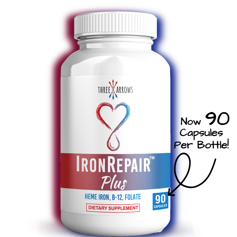 Iron Repair supplement with iron for women