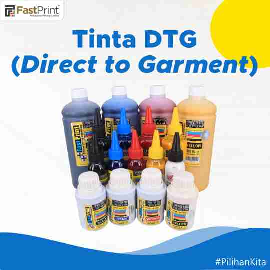 tinta direct to garment, dinta textile
