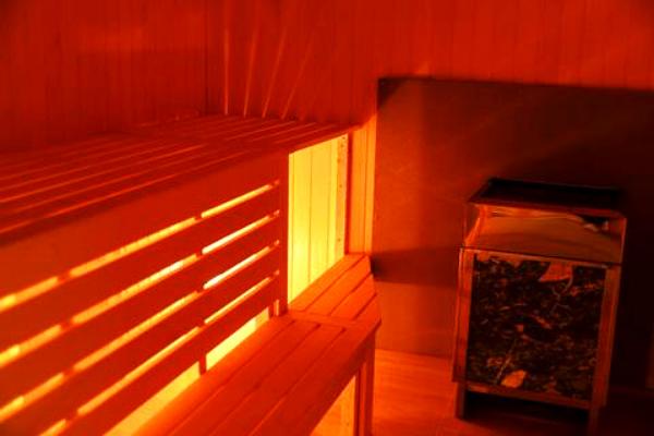 Interior Wooden Sauna