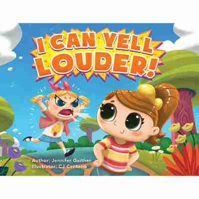 I Can Yell Louder Book Cover