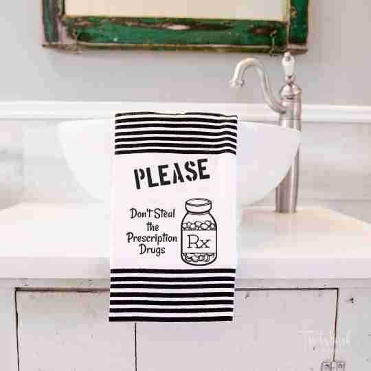 Adult Humored Terry Towels | Twisted Wares®