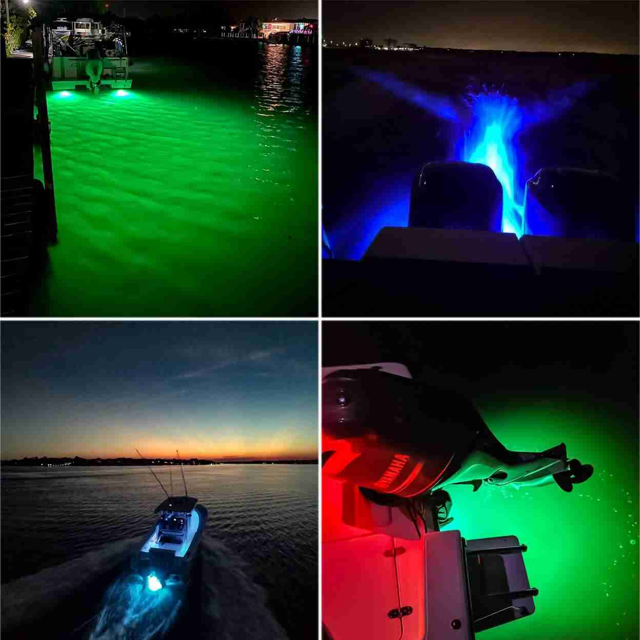 led boat transom lights
