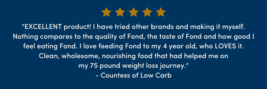 Good review of FOND bone broth.