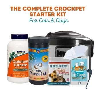 The Complete CrockPET Starter Kit For Cats & Dogs