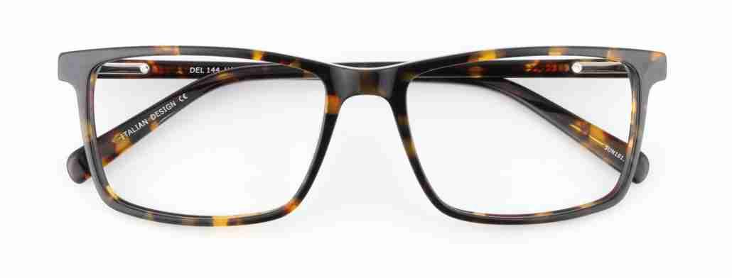 havana rectangle glasses
