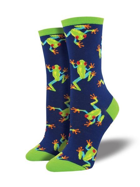 Gabby Maria Women's Dragon Flies Crew Socks