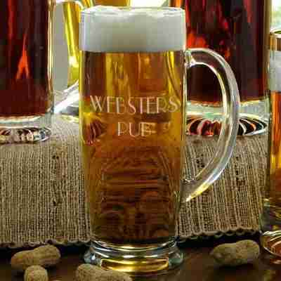 Personalized Beer Mug for Men's Valentine's Day Gift
