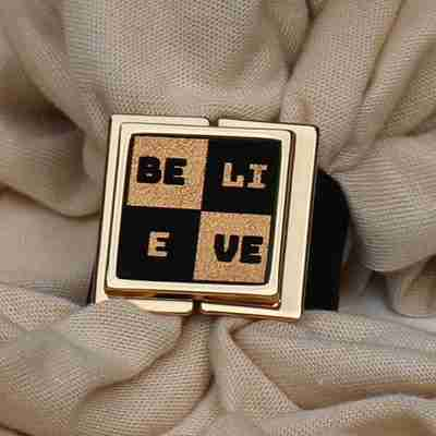 Believe Scarf Lock - Lock and Shine