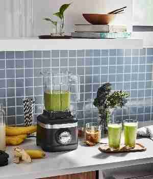 Blender with smoothies