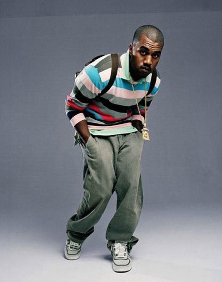 Kanye West in the Nike Vandal