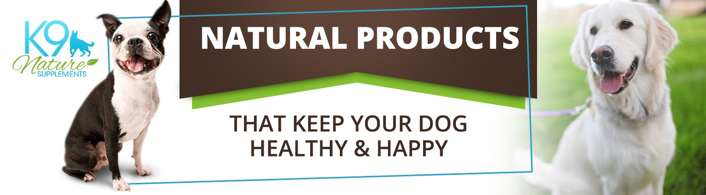 K9 Nature Supplements Natural Products that keep your dog healthy and happy