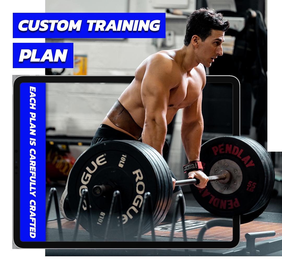 Custom Plan Section