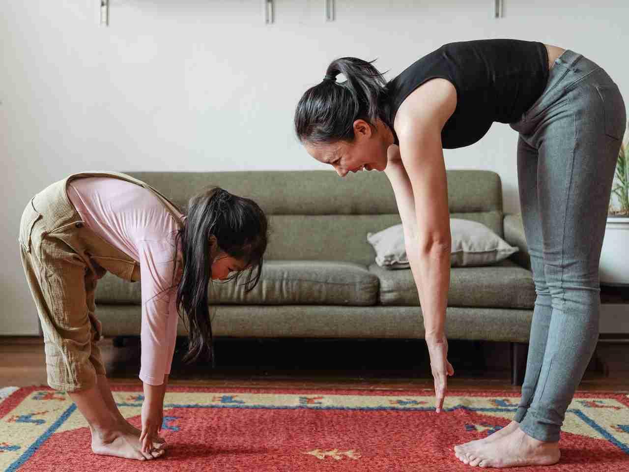 healthy habits yoga at home