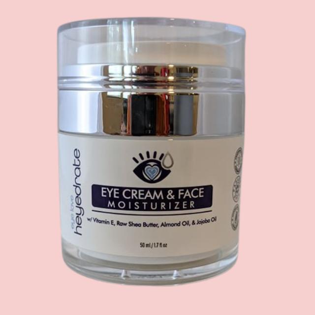 Eye Cream and Face Moisturizer