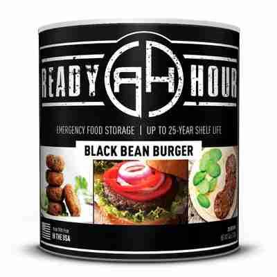 RH Black Bean Burger Large Can