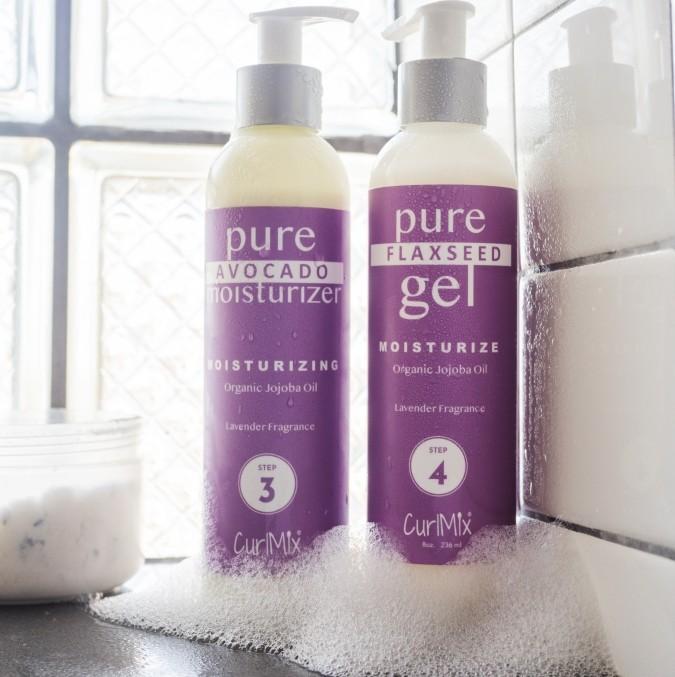 Lavender Wash + Go Set with Organic Jojoba Oil for Moisturizing Hair