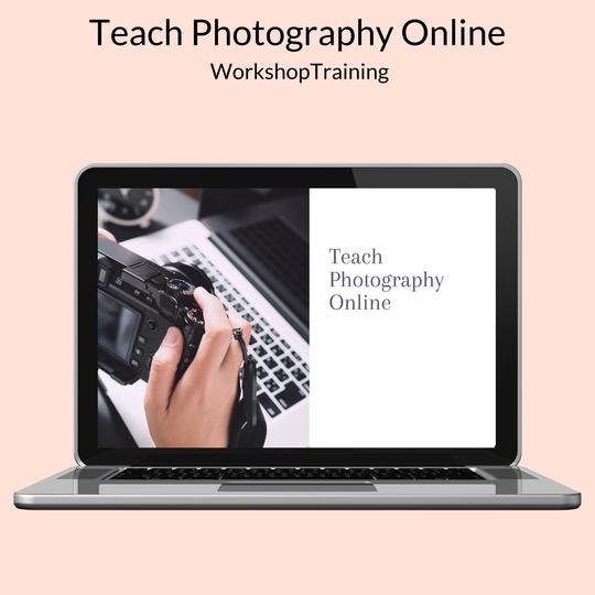 teach photography online workshop