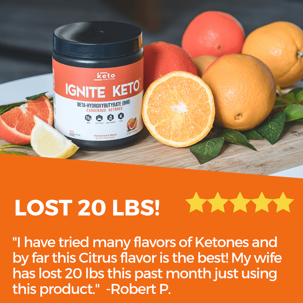 ignite keto bhb exogenous ketones are best rated for taste and weight loss
