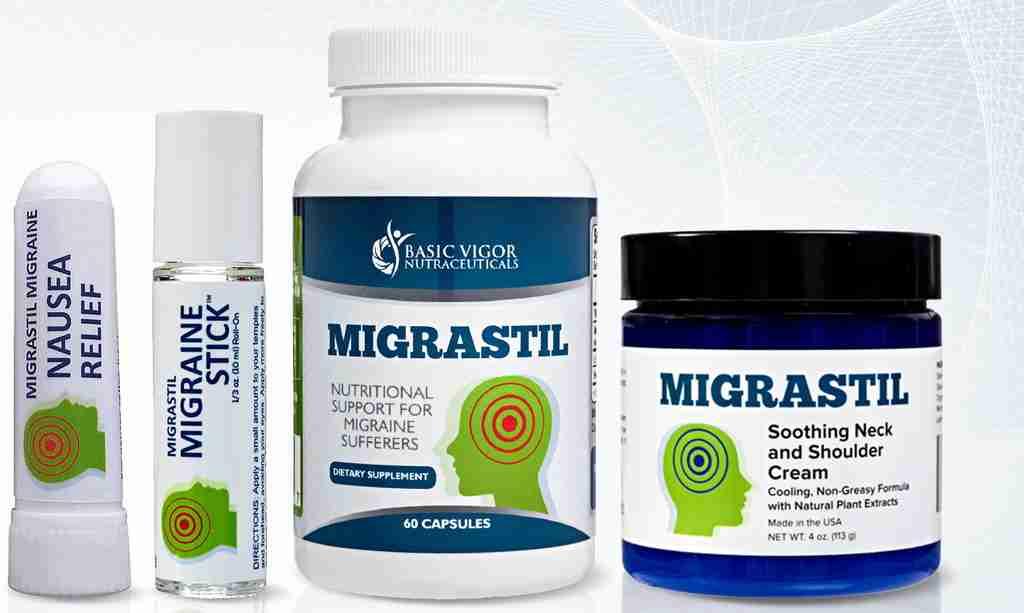 Migrastil Natural Migraine Relief