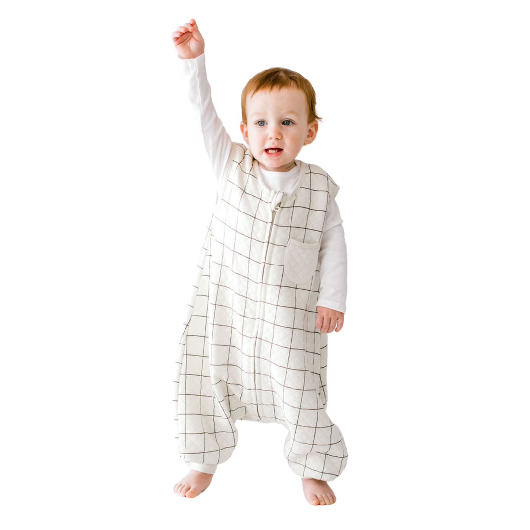 Checkered Dreamsuit - 0.8 TOG Toddler Sleep Bag With Legs