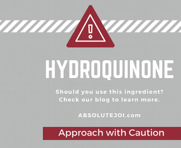 Hydroquinone: Approach with Caution