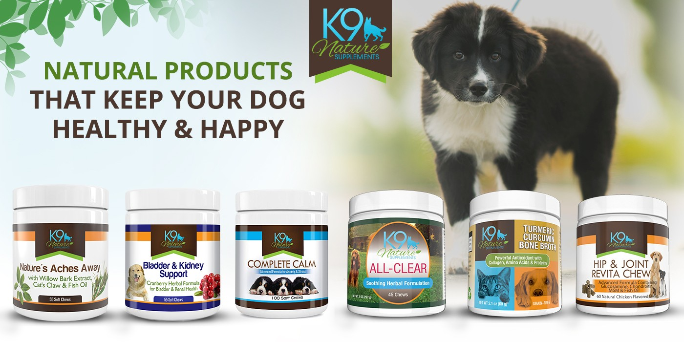 k9 nature dog supplements
