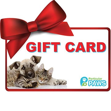 Gift Card Particular Paws