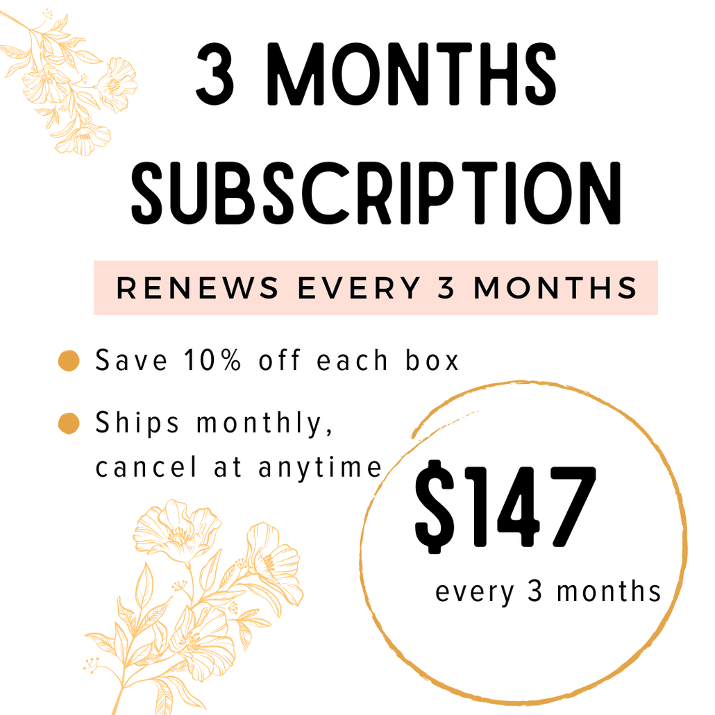 Your Monthly Kindness Kit - 3 Months Subscription