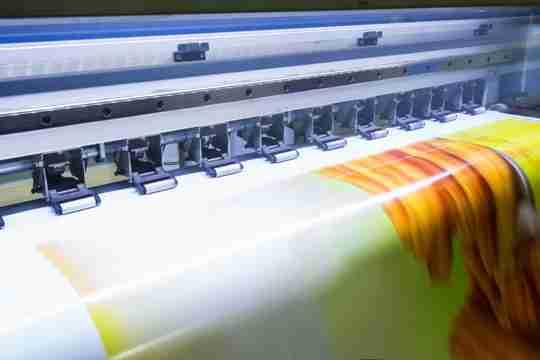 muncul lipatan, masalah pada printer