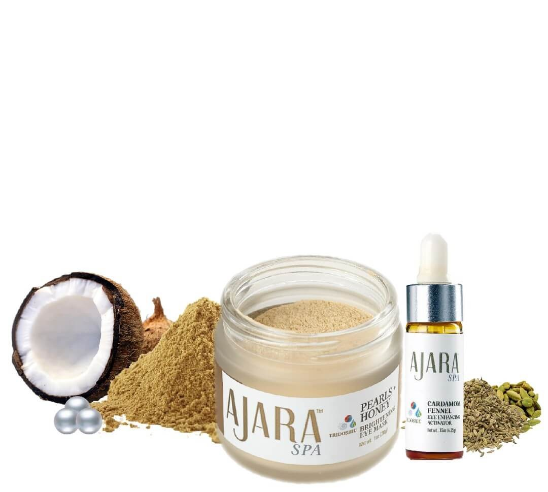 Pearl Honey Mask: Eye Care Ritual