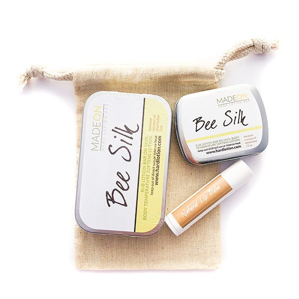 Trio Beesilk & Lip Balm for traveling