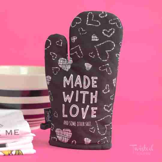 Pun Intended Oven Mitts   Twisted Wares®
