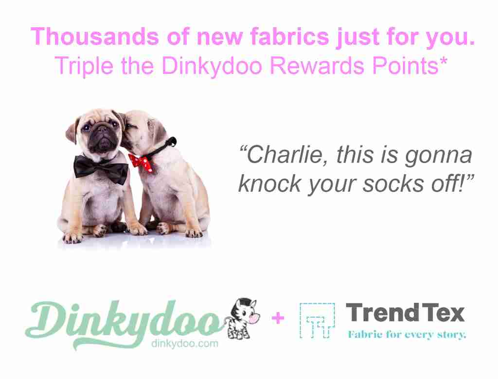 trend-tex partner program dinkydoo