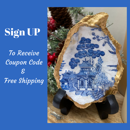 Sign up to receive coupon code