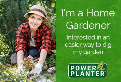 Home Gardener Range of Power Planters