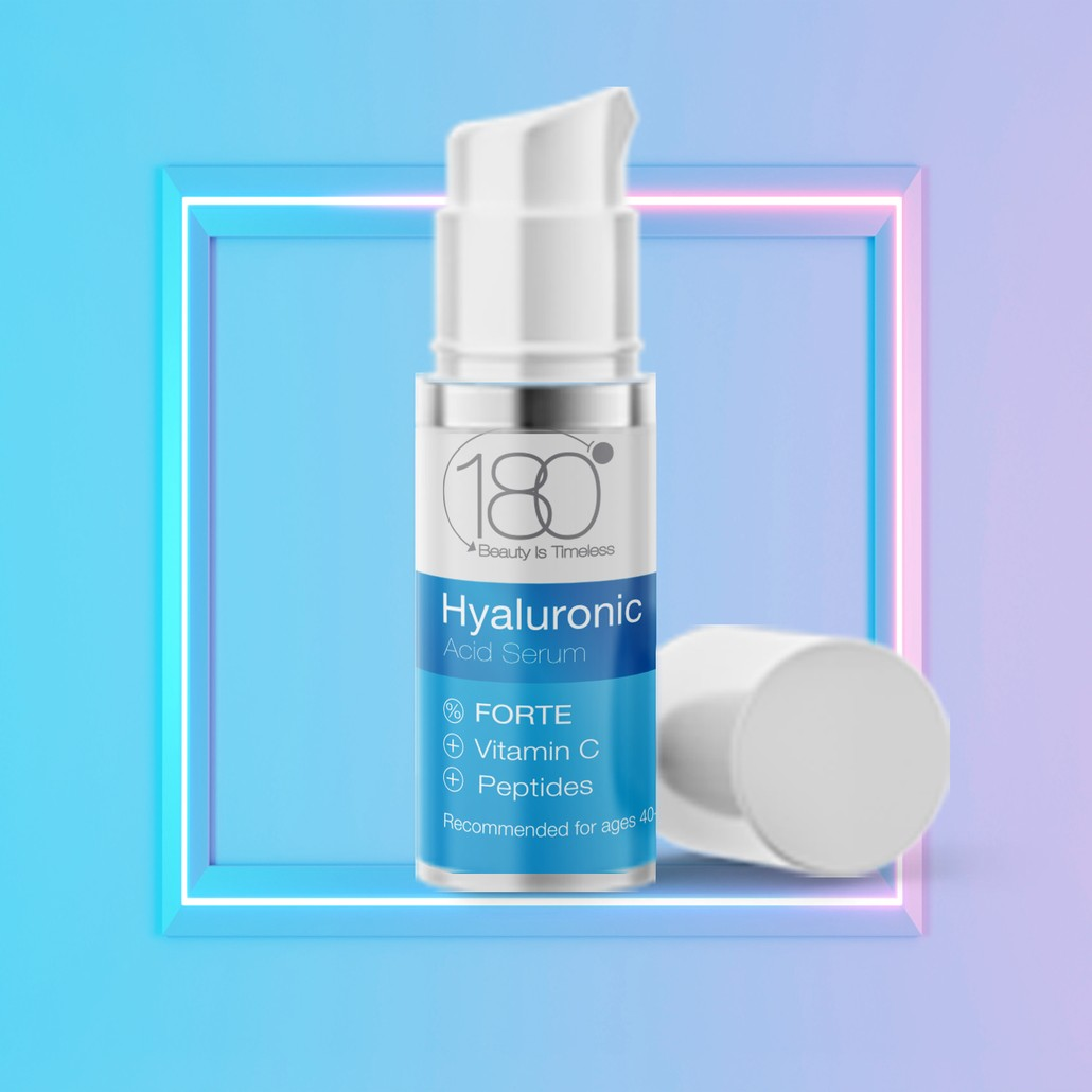 Hyaluronic Acid Serum + Vitamin C Forte (15 ml)