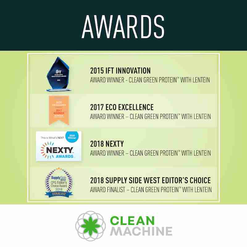 Clean Machine - Clean Green Protein Awards